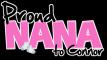 Proud Nana-Pink