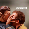 Denied. Spock