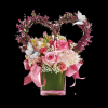 pink bouket