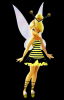 TINKERBELL AS A BEE