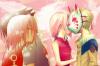 Sakura, Sasuke, and Naruto <3