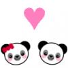 Panda love avatar