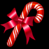 Background - Christmas Candy Cane