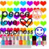 Peace + Love + Happiness!