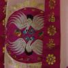 Pink Crane Korean Hanbok Macro