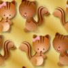 cat fall background