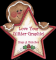 Gingerbread Star - Love Your Glitter-Graphic! Hugs A Bunches