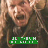 slytherin cheerleader