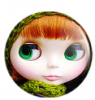 Blythe Doll Button