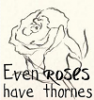 Even Roses Have Thornes