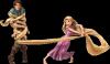 Rapunzel outsmarts Flynn