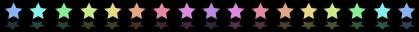 Rainbow Stars - Small