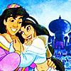 Disney jasmine and aladdin