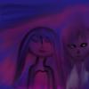 girls on purple