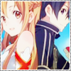 Kirito and Asuna - Sword art Online