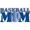 Baseball Mom- Blue