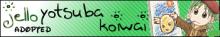 A Yotsuba banner
