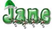 Santa's Hat - Jane