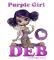 PURPLE GIRL - DEB