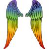 Rainbow Angel Wings