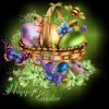 Glitter Graphics Happy Easter