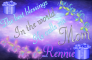 Rennie -The best blessings...