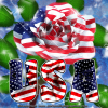 USA rose (Fb profile pic)
