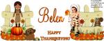 Belen -Happy Thanksgiving