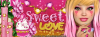Sweet pink Love FB cover