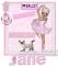 I LOVE BALLET  - JANE