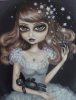 Victorian Big Eyes Doll