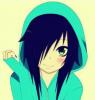 Girl in hoodie