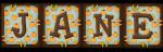 Pumpkin Blocks - Jane