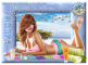 Woman lying on beach - Tonya
