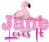 Pink Flamingo - jane