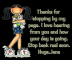 Thanks for stopping by - Jane