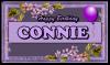 Connie - Flowers - Balloon - Birthday