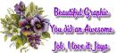Purple Flowers - Jaya