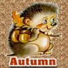 Hedgehog Autumn Avatar
