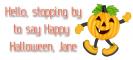 Happy Halloween - Jane