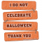 Don't celebrate