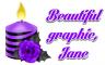 Purple Candle - Jane