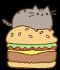 Pusheen Burger