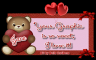 Valentine's Day Bear - Jane