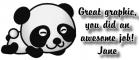 Cute Panda - Jane
