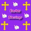 Easter Blessings Background