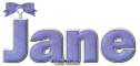 Purple bow - Jane