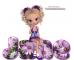Blonde girl/flowered text - Jane