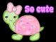 Girlie turtle