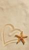 Beach Heart & Starfish
